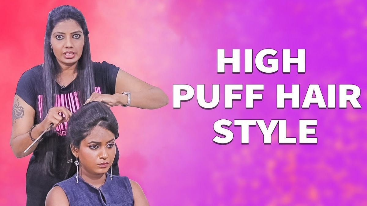 How to do High Puff Hairstyle! |Nature Nurture