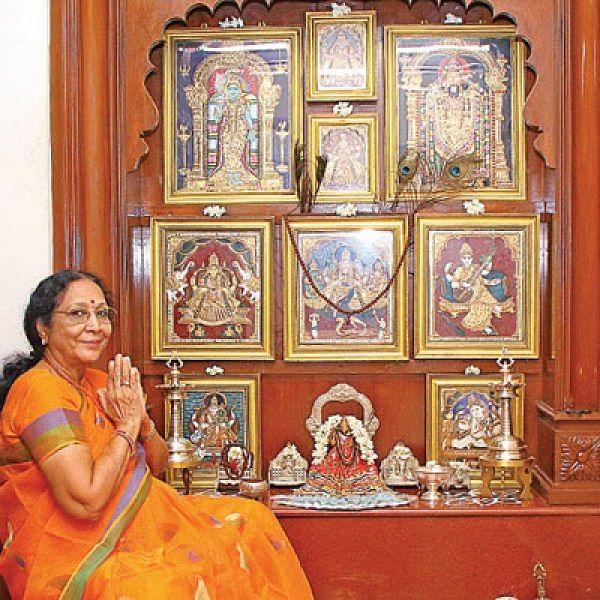 'கற்பக விருட்சத்தைக் கண்டேன்!' - பத்மாவதி குமரன்