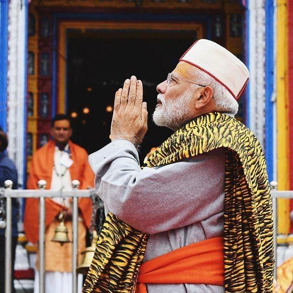 """""""29 ஆண்டுகளுக்குப் பிறகு கேதர்நாத்தில் தியானம்!"""" - பரவசத்தில் உருகிய மோடி"""
