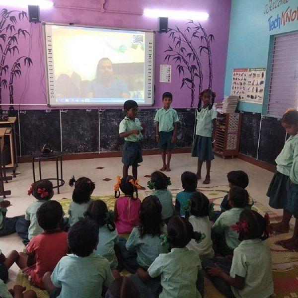 `நாங்களும் டிவியில் வரப்போறோம்!' - அரசுப் பள்ளி மாணவர்கள் உற்சாகம்