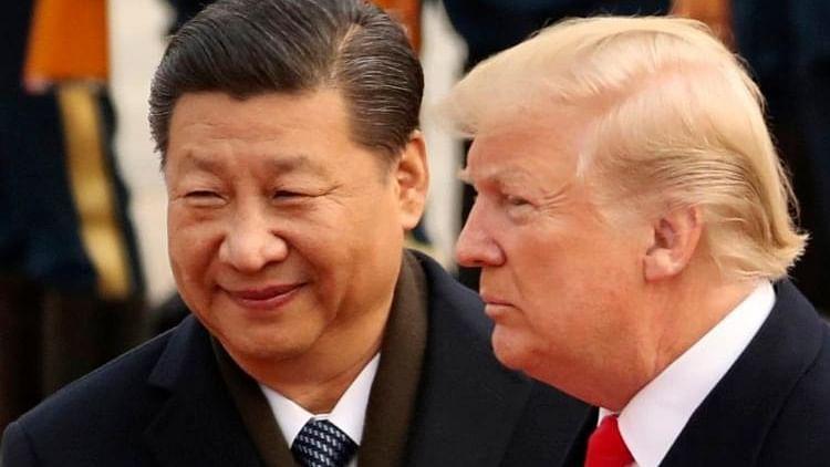 Trump and Xi Jinbing