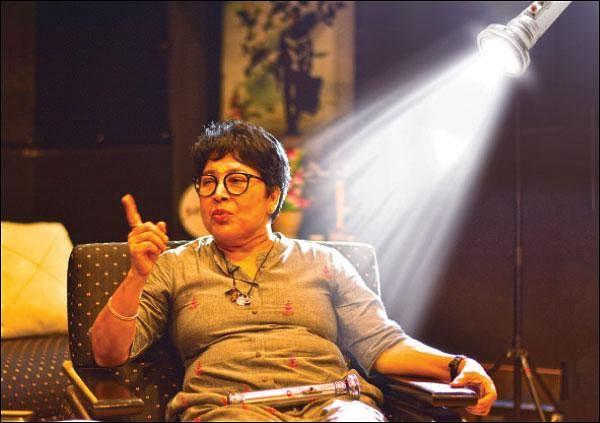 `மக்களின் நம்பிக்கையை விட்டுக்கொடுக்கமாட்டோம்!' - நடிகை கோவை சரளா