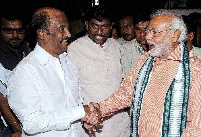 வித்தை காட்டிய மோடி... ரஜினியுடன் போடுவாரா ஜோடி?