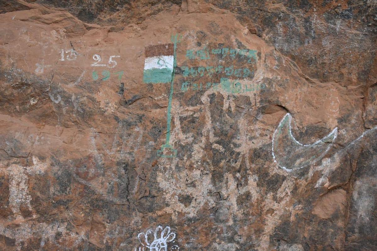 அழிந்துவரும் 5000 ஆண்டுகள் பழைமையான பாறை ஓவியங்கள்! - கண்ணீர் வடிக்கும் ஆய்வாளர்கள்