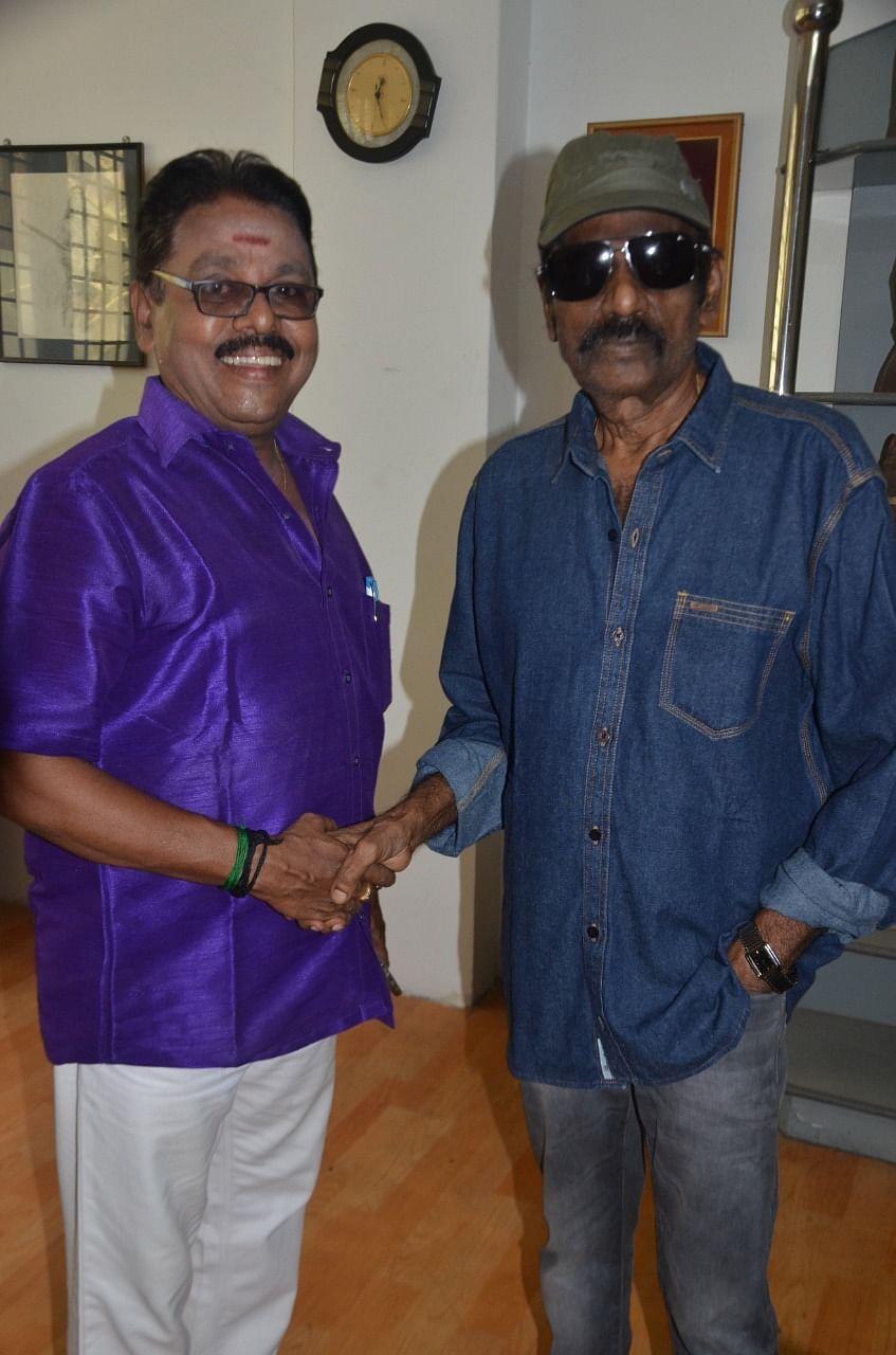 Goundamani with Rajagopal