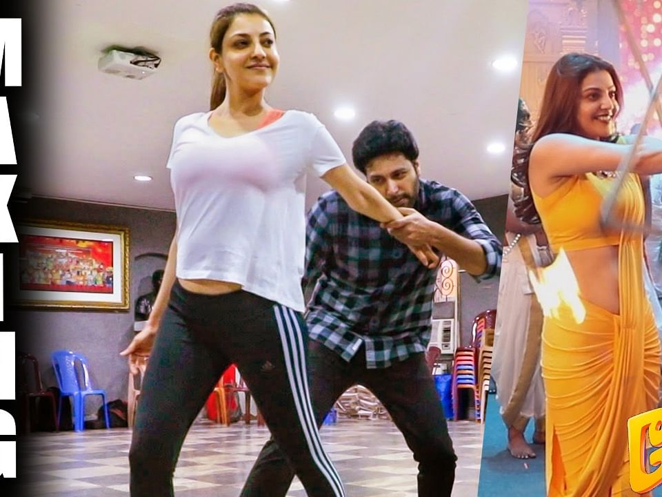 Kajal Agarwal & Jayam Ravi Rehearsal for Comali - Paisa Note | Official Making