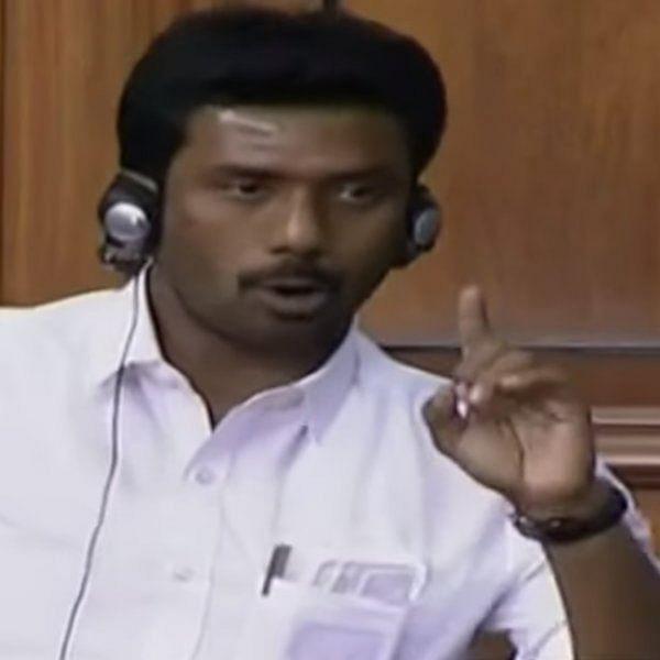 `அவர்கள் 37 பேர்; தமிழக அரசுக்கு நான் ஒற்றை ஆள் மட்டும்தான்!' - மக்களவையில் ரவீந்திரநாத் குமார் ஆவேசம்