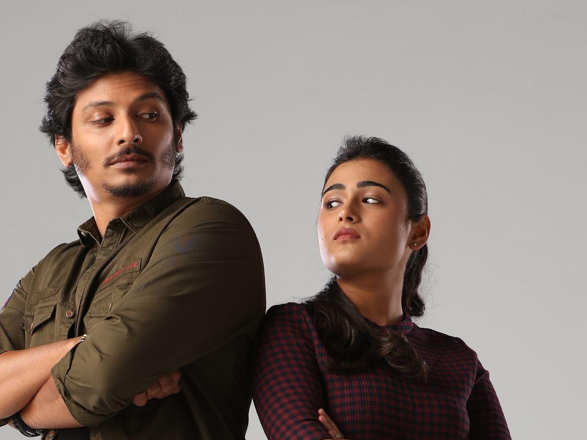 ஜீவா, ஷாலினி பாண்டே, சதீஷ் நடித்துள்ள 'கொரில்லா' பட ஸ்டில்ஸ்
