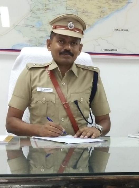 அரியலூர் எஸ்.பி சீனிவாசன்