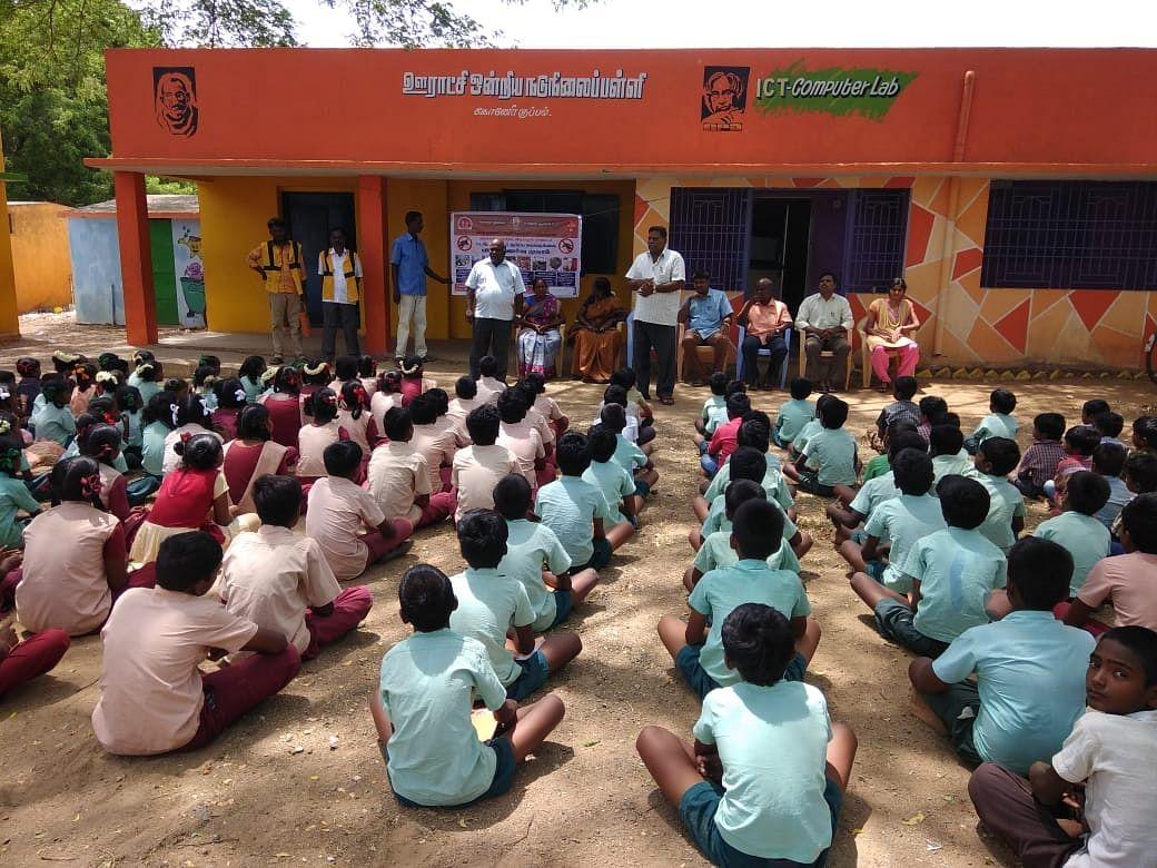 அரசுப் பள்ளிகள் நூலகங்களாக மாற்றப்படுவது குறித்து உங்கள் கருத்து என்ன? #VikatanSurvey