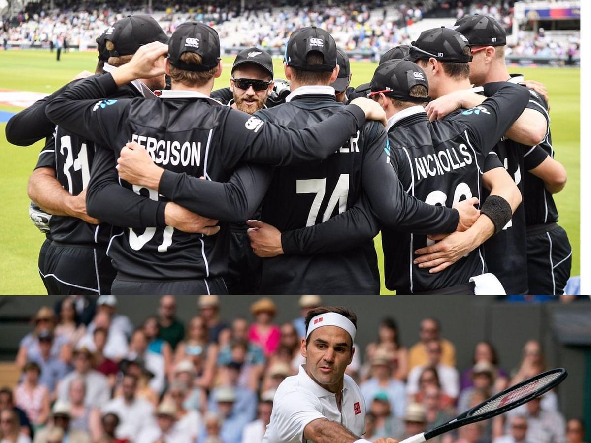 Cricket Newzealand - Roger Federer