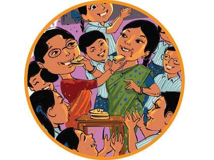 சிரிப்பு கேக்
