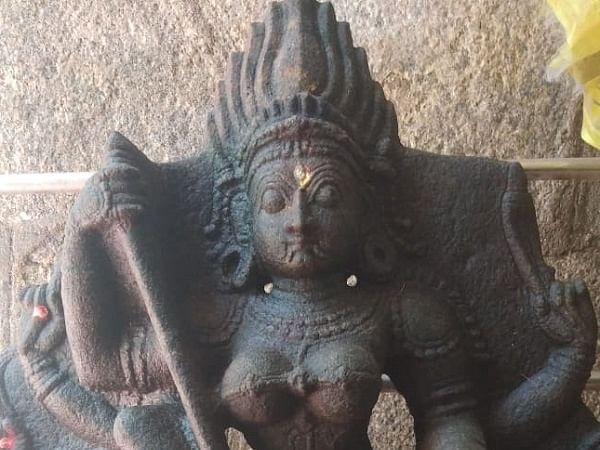 அணையில் கிடைத்த 17-ம் நூற்றாண்டு அம்பாள் சிலை!