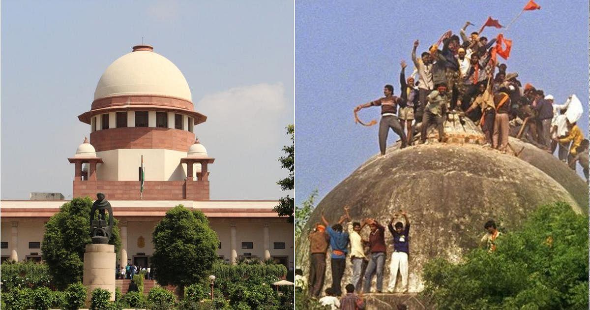 பாபர் மசூதி - அயோத்தி ராமர் கோயில்