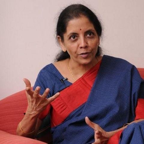 மத்திய நிதியமைச்சர் நிர்மலா சீதாராமன்