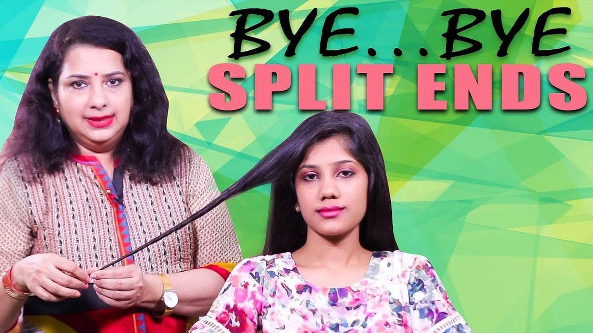 How to Avoid Split Ends Naturally! | Vasundhara Tips