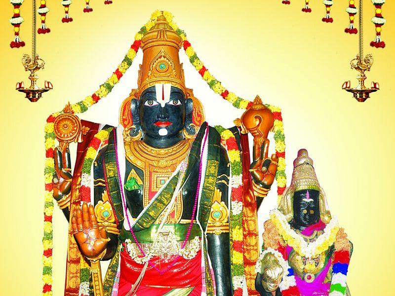 சனிதோஷம் நீக்கும் வானமுட்டிப் பெருமாள்... கும்பகோணம் அருகே ஓர் அத்திவரதர் !