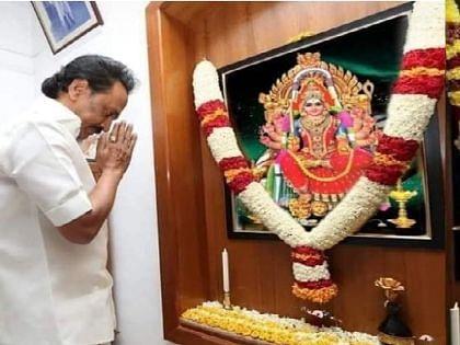 ஸ்டாலின் மற்றும் உதயநிதி சாமி கும்பிட்டது உண்மையா?! #VikatanFactCheck