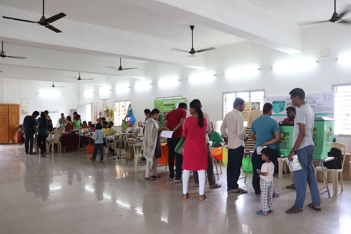 `இனியெல்லாம் இயற்கையே' கருத்தரங்கில் இடம்பெற்ற ஸ்டால்