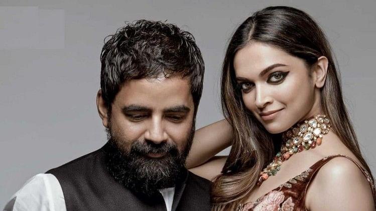 Sabyasachi Mukherjee with Deepika Padukone