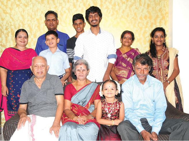 இயக்குநர் ஸ்ரீகணேஷ் குடும்பம்