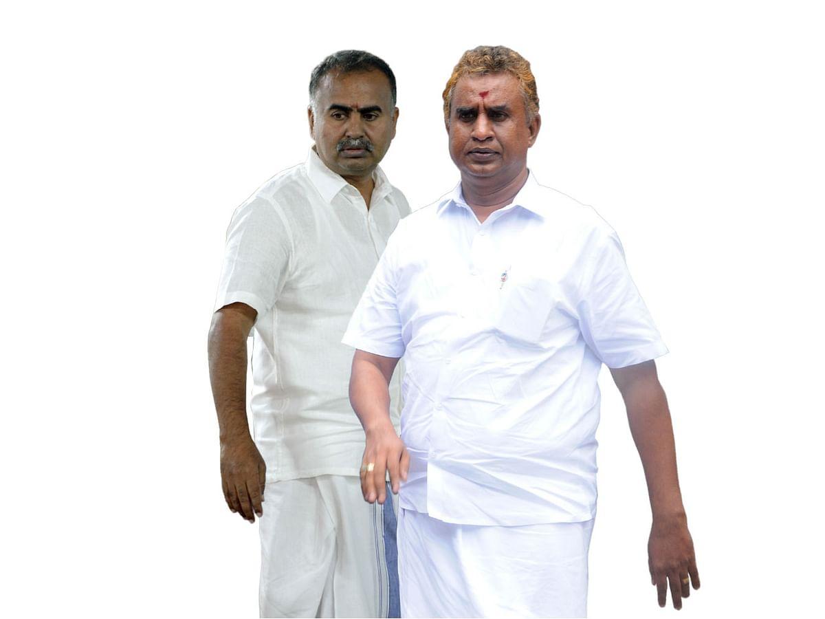 அன்பரசன், வேலுமணி