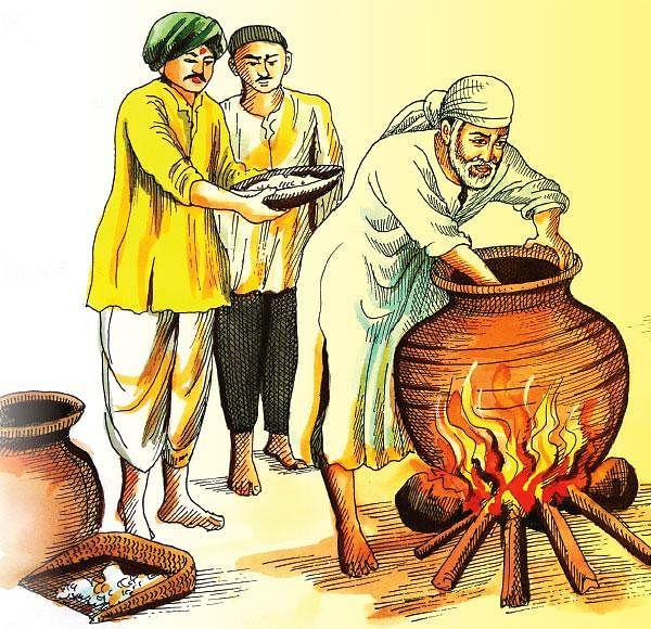 """``எப்போதும் பேராசை இல்லாதவர்களாக இருங்கள்"""" - பக்தருக்கு பாபா உணர்த்திய பாடம்! #SaiBaba"""