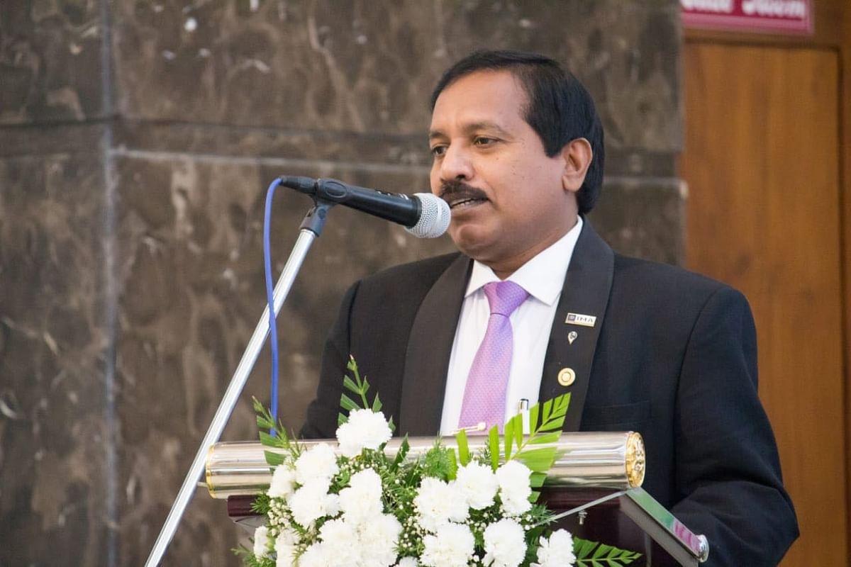 ஐ.எம்.ஏ தேசியத் தலைவர்  மருத்துவர் ஜெயலால்
