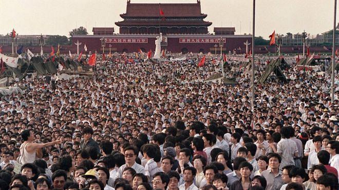 Tiananmen square protests - 1989