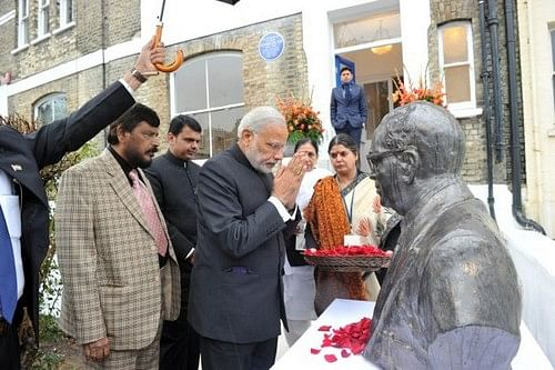 Ambedkar's museum Opened by MOdi