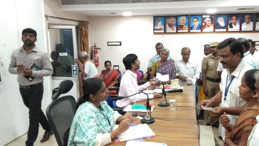 Theni District collector