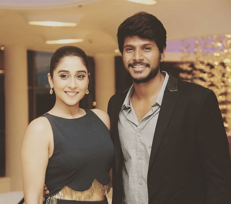 Sundeep Kishan with regina cassandra