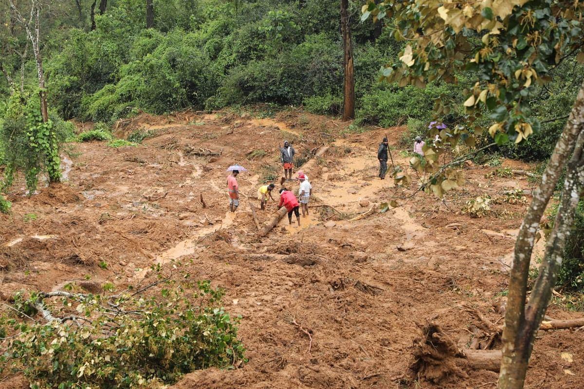 Rescue operation in Nilgiris