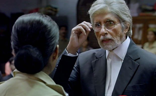 Amitabh in Pink