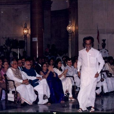 வாஜ்பாய், அத்வானி, ரஜினி