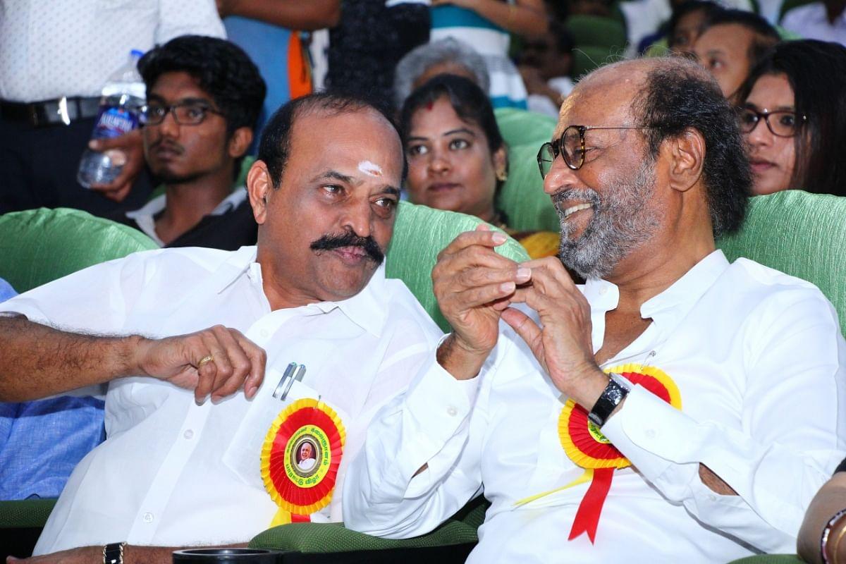 Rajinikanth, Minister Kandambur Raju
