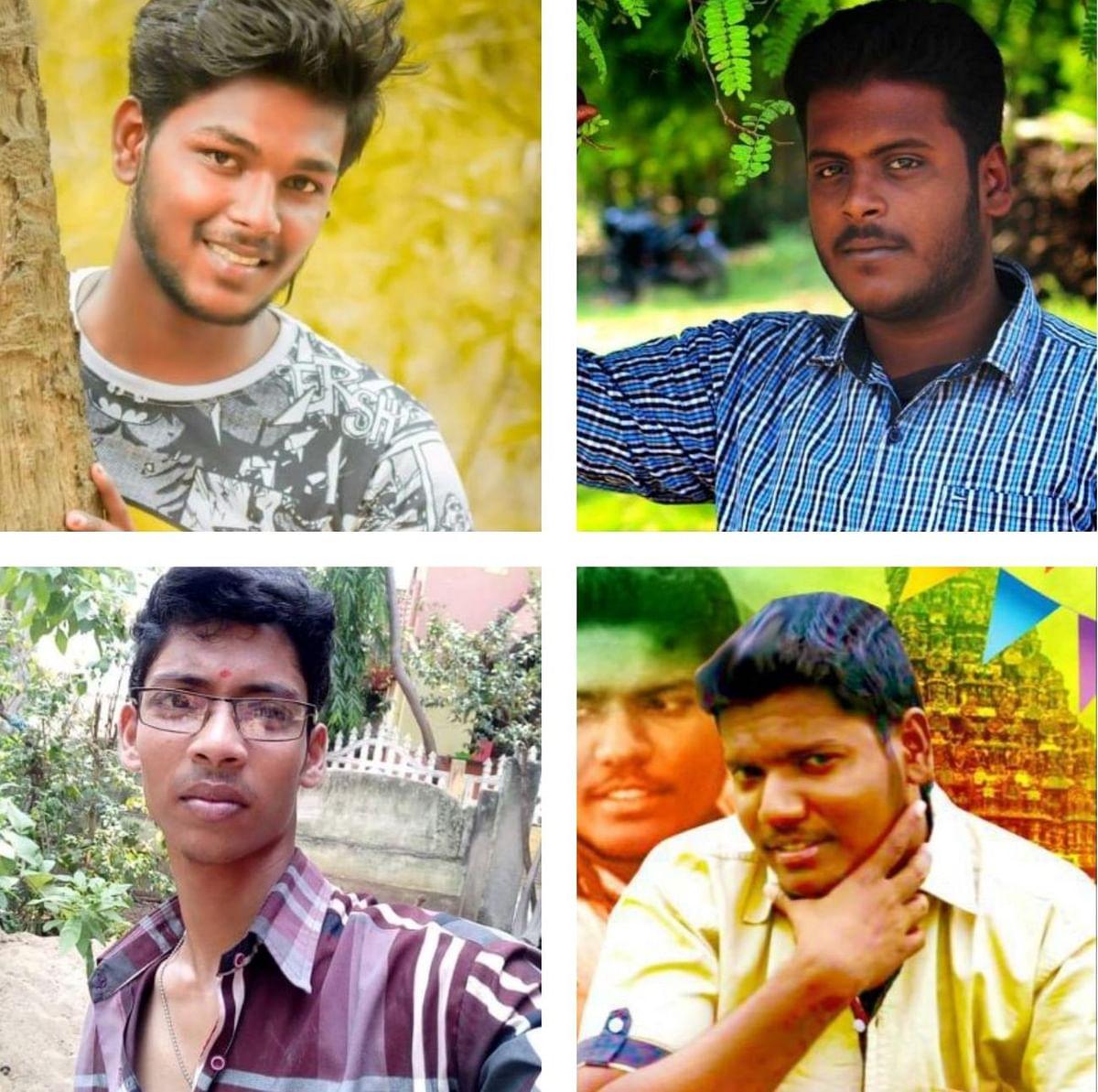 அன்பரசு, தினேஷ் புருஷோத்தமன், வசந்த்