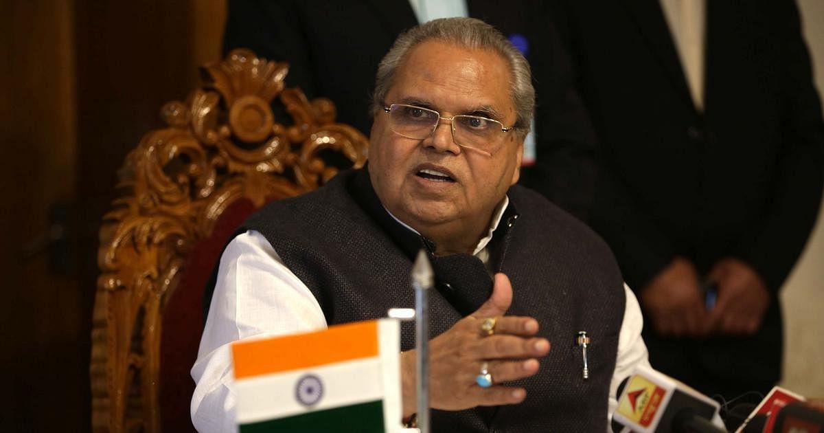 காஷ்மீர் ஆளுநர் சத்ய பால் மாலிக்