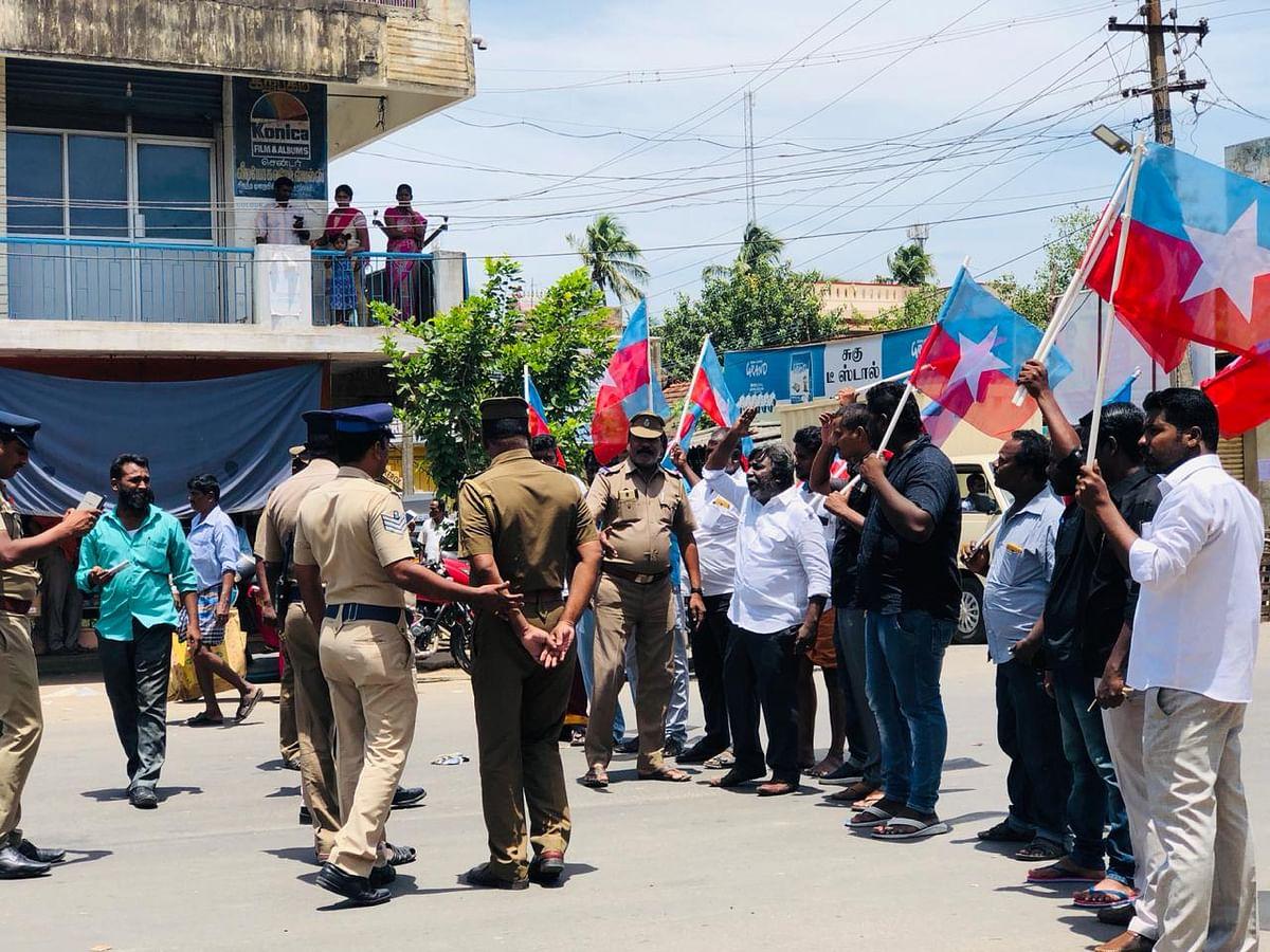 Gopi Nainar Protest