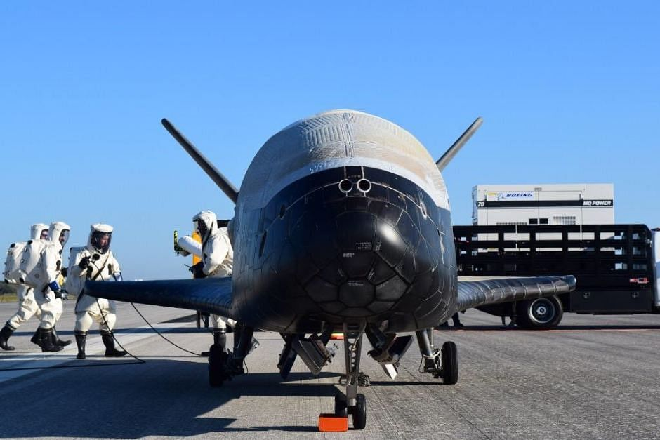 X-37B Photo taken in year 2017