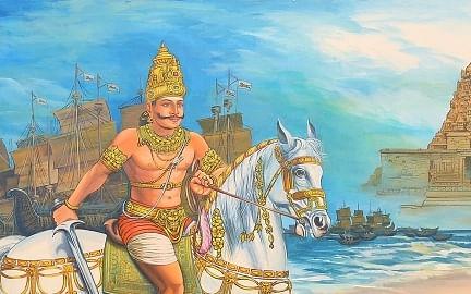 கம்போடியாவில் ராஜேந்திர சோழனுக்கு சிலை ஏன்?