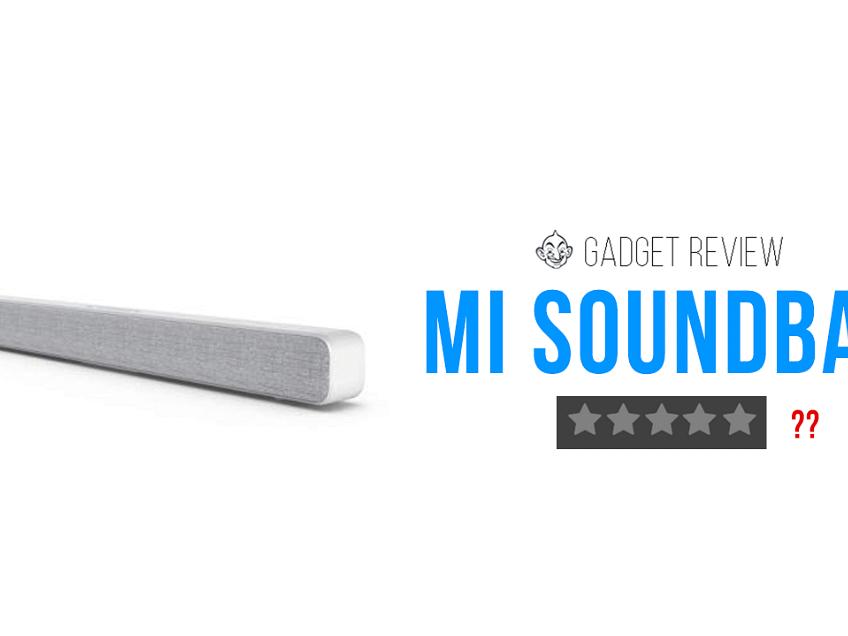 MI Soundbar Vikatan gadget review