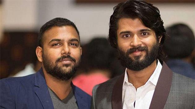 Vijay Devarakonda with tharun Basker
