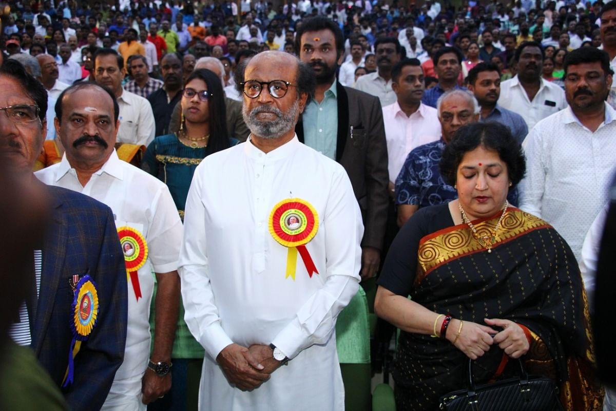 Rajinikanth, Latha Rajinikanth