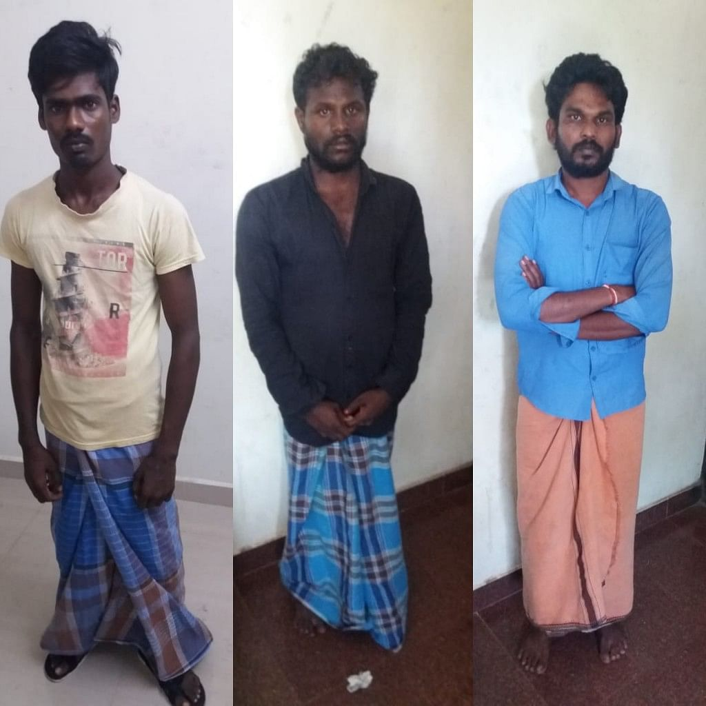 Mens Arrested in Statue theft case