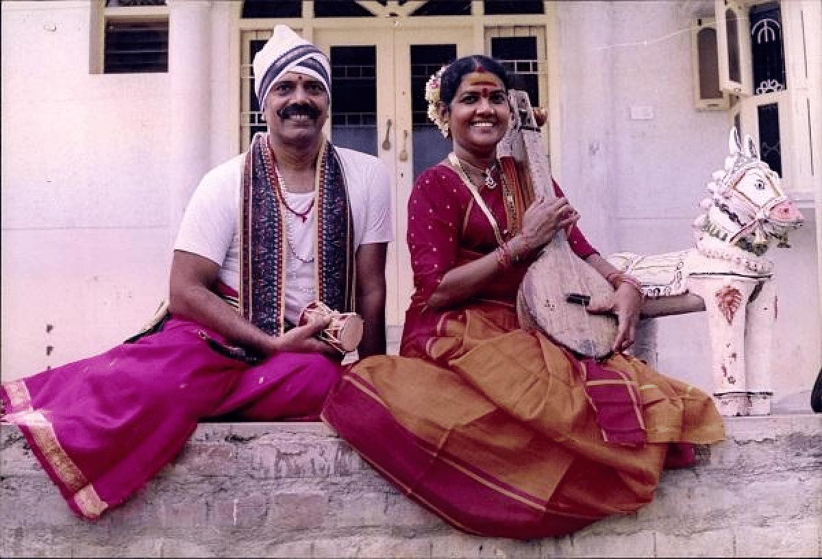விஜயலட்சுமி - நவநீதகிருஷ்ணன் இளவயதுப் புகைப்படம்