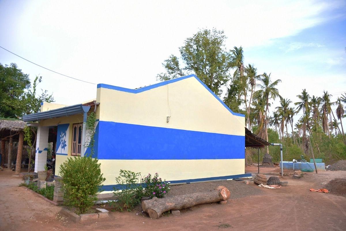 Rainwater Harvesting Building