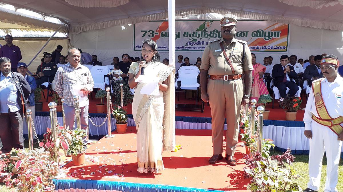 நீலகிரி மாவட்ட ஆட்சியர் இன்னசென்ட் திவ்யா