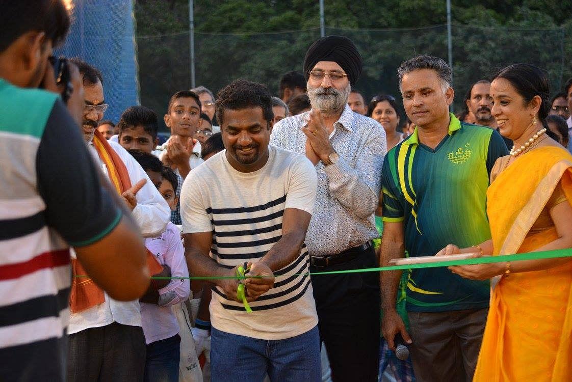 V. B. Chandrasekhar in the inauguration