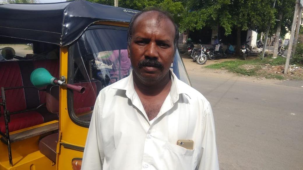 Auto driver Murugaiyan